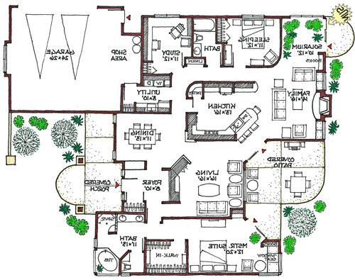 Eco-Friendly House Designs Floor Plans photo - 2