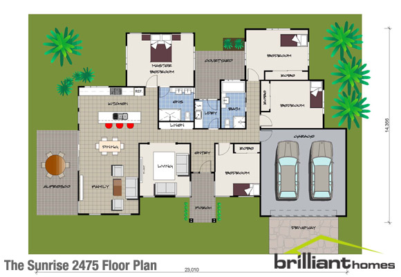 EcoFriendly House Designs Floor Plans – Green House Designs Floor Plans