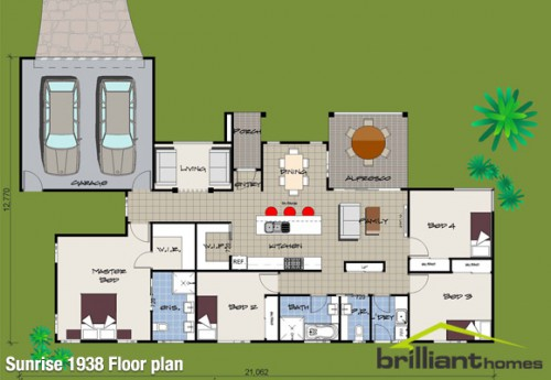 Eco Friendly House Designs Floor Plans Photo   9