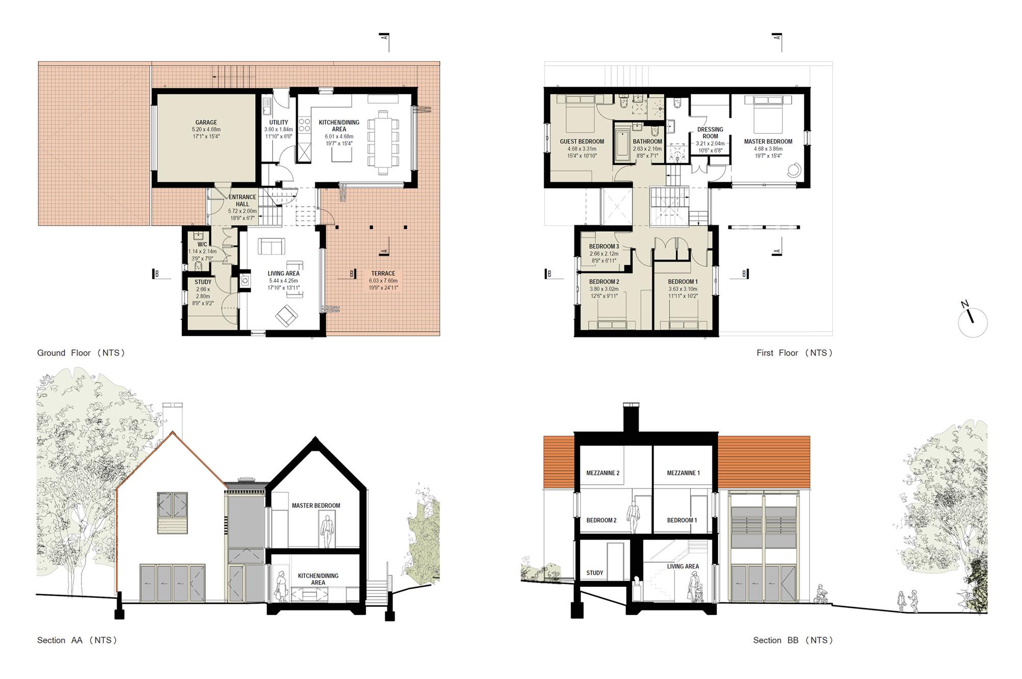 Eco House Blueprints photo - 2