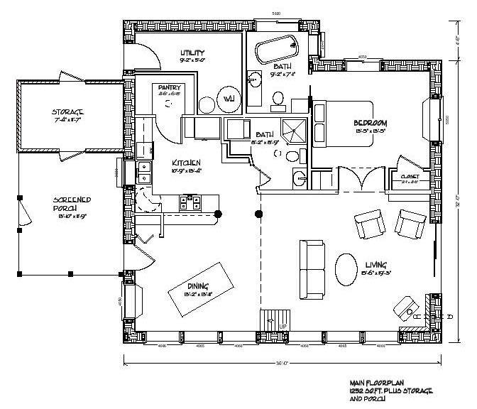 Eco House Blueprints photo - 5