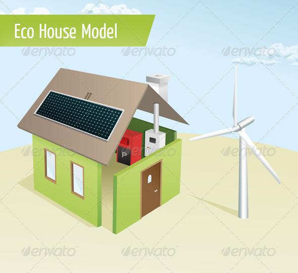 Eco House Model photo - 4