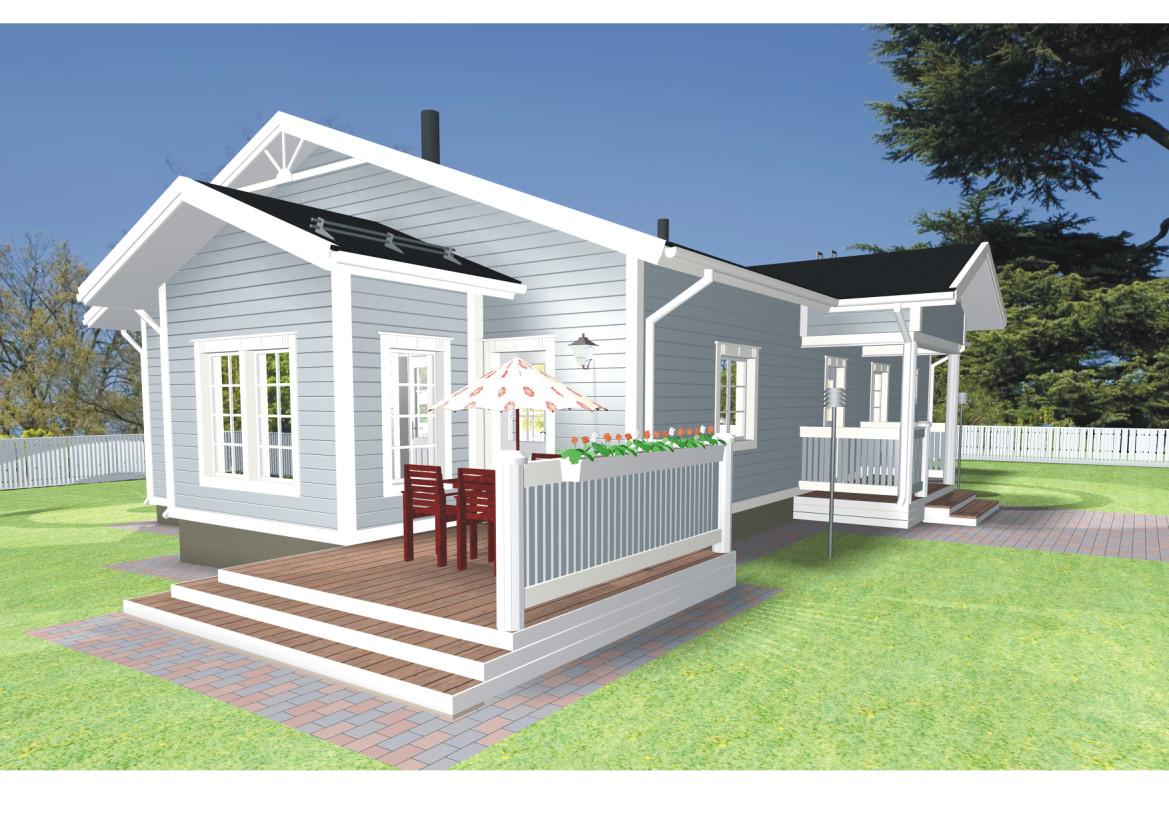 Eco House Model photo - 9
