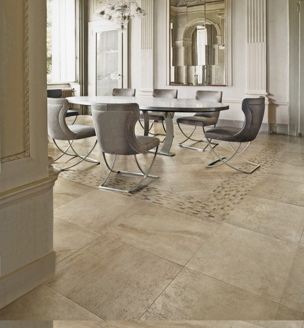 Elaborate Flooring Dining Room photo - 3