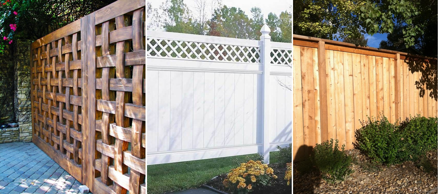 Foolproof Designs and Privacy Fence Types For Your Updated Home photo - 4