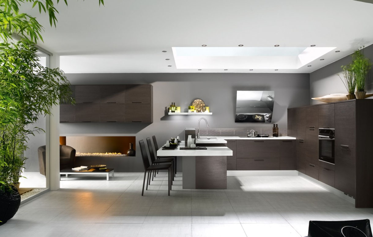 French Contemporary Kitchen photo - 9