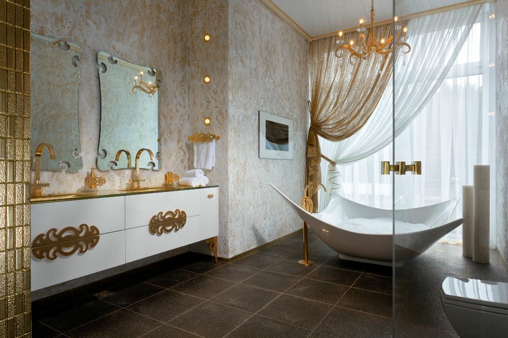Gold Bathroom Idea photo - 1