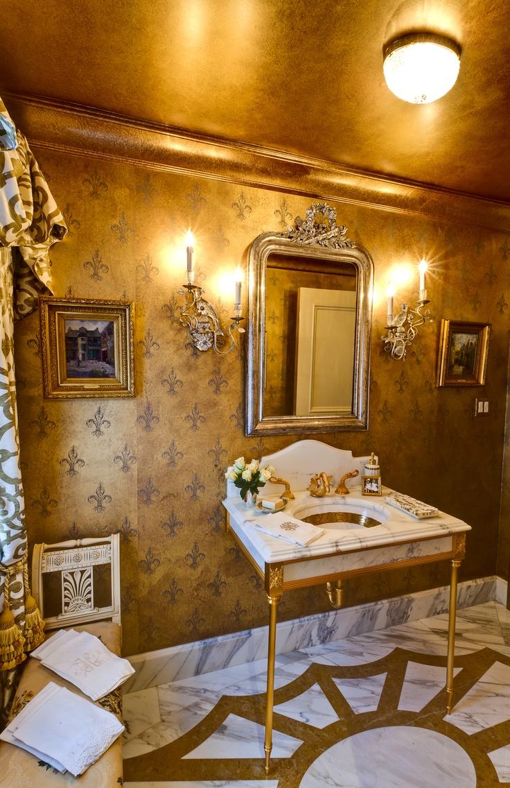 Gold Bathroom Idea photo - 2