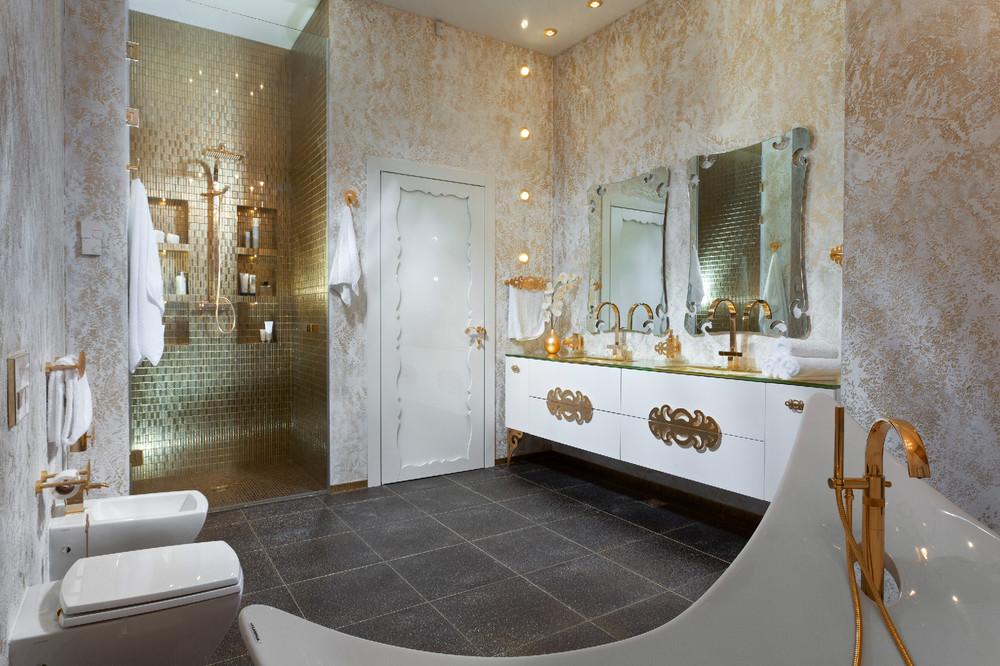Gold Bathroom Idea photo - 3