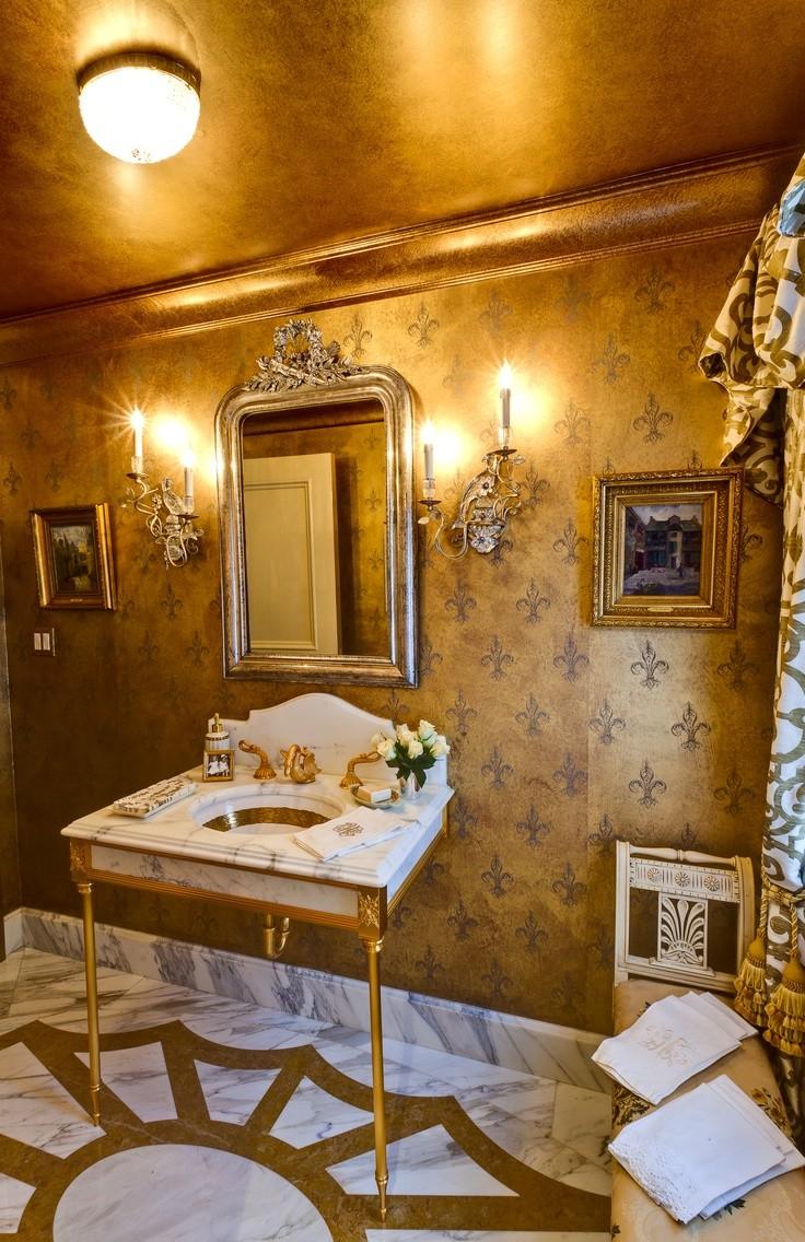 Gold Bathroom Idea photo - 6
