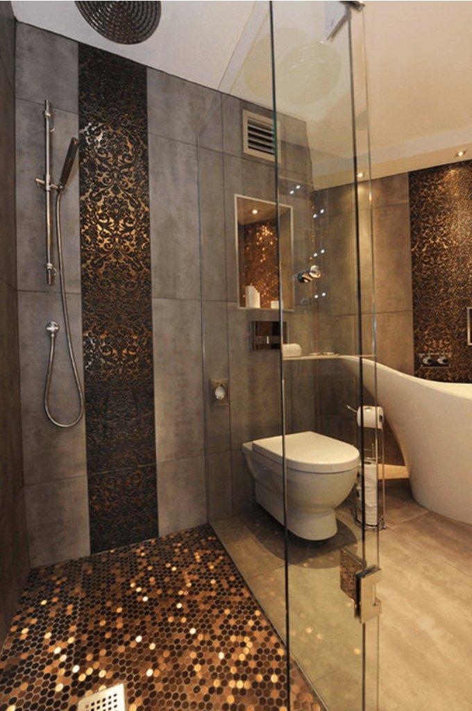 Gold Bathroom Idea photo - 8
