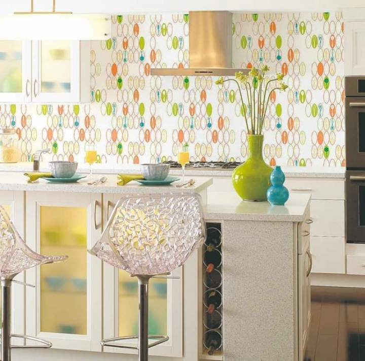 Green Kitchen Wallpaper photo - 5