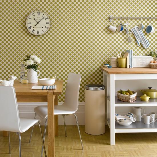 Green Kitchen Wallpaper photo - 6