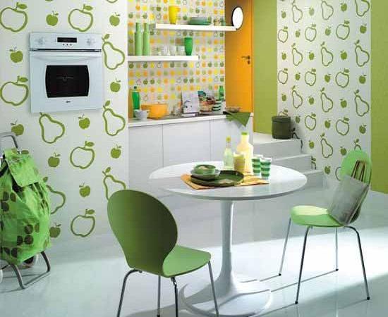 Green Kitchen Wallpaper photo - 9