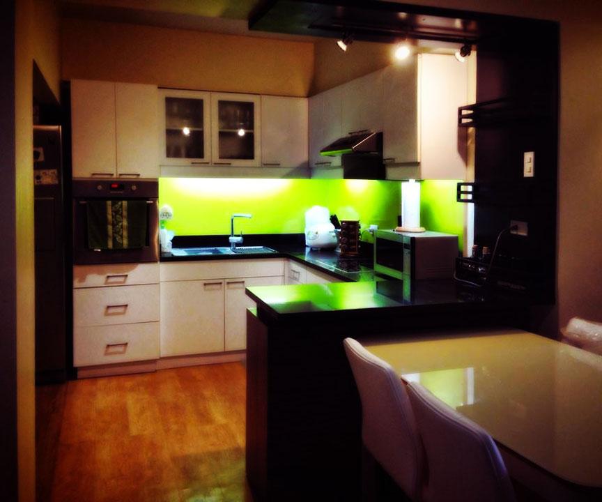 Green Modern Kitchen photo - 10