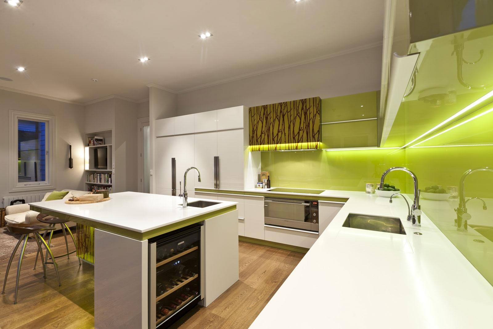 Green Modern Kitchen photo - 5