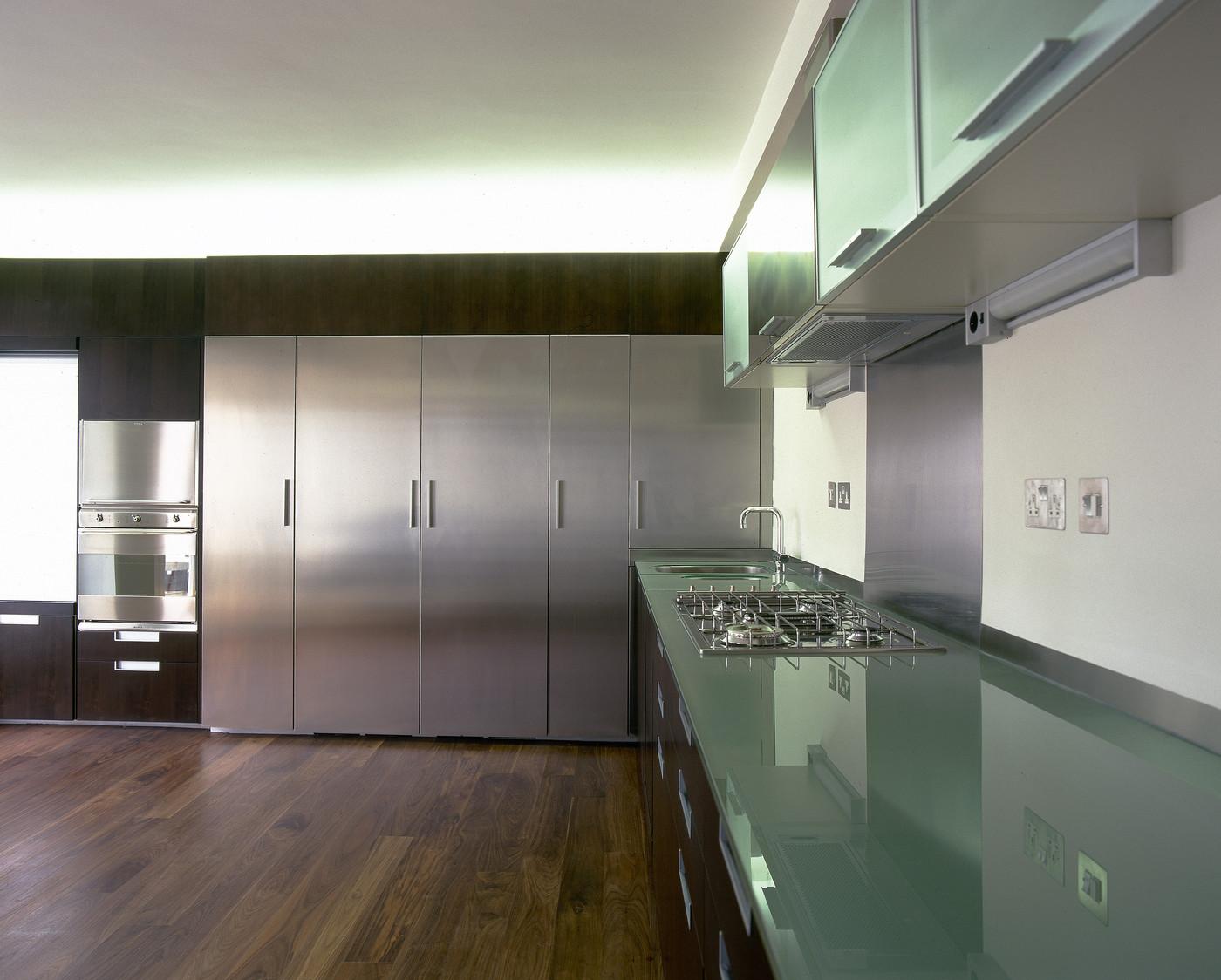 Green Modern Kitchen photo - 6