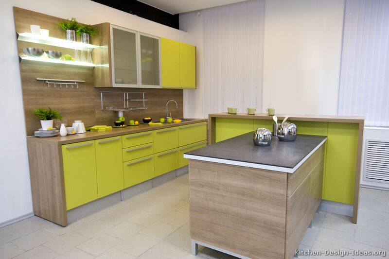 Green Modern Kitchen photo - 9