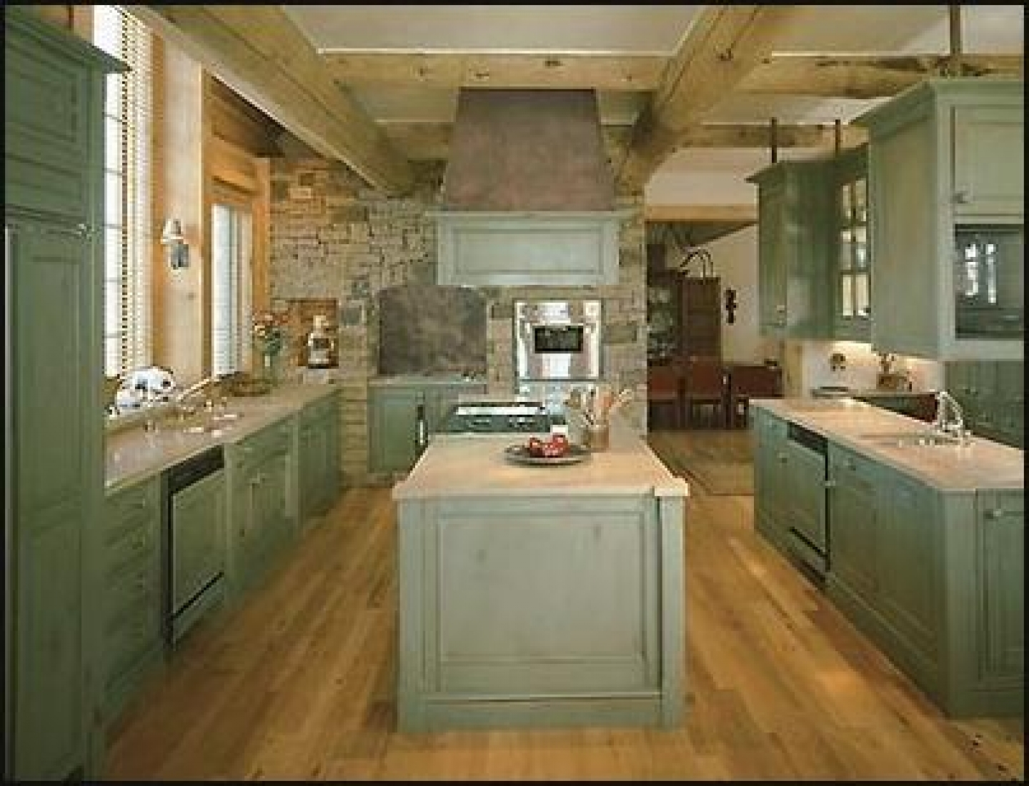 Kitchen Interior Idea photo - 7