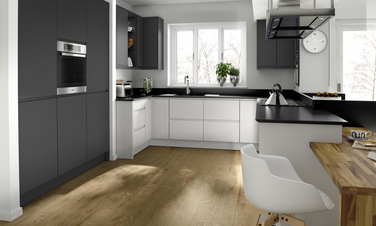 Kitchen Showrooms ヨ Black and White photo - 3