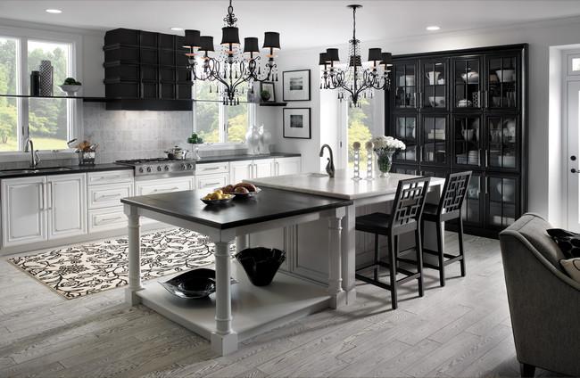 Kitchen Showrooms ヨ Black and White photo - 9