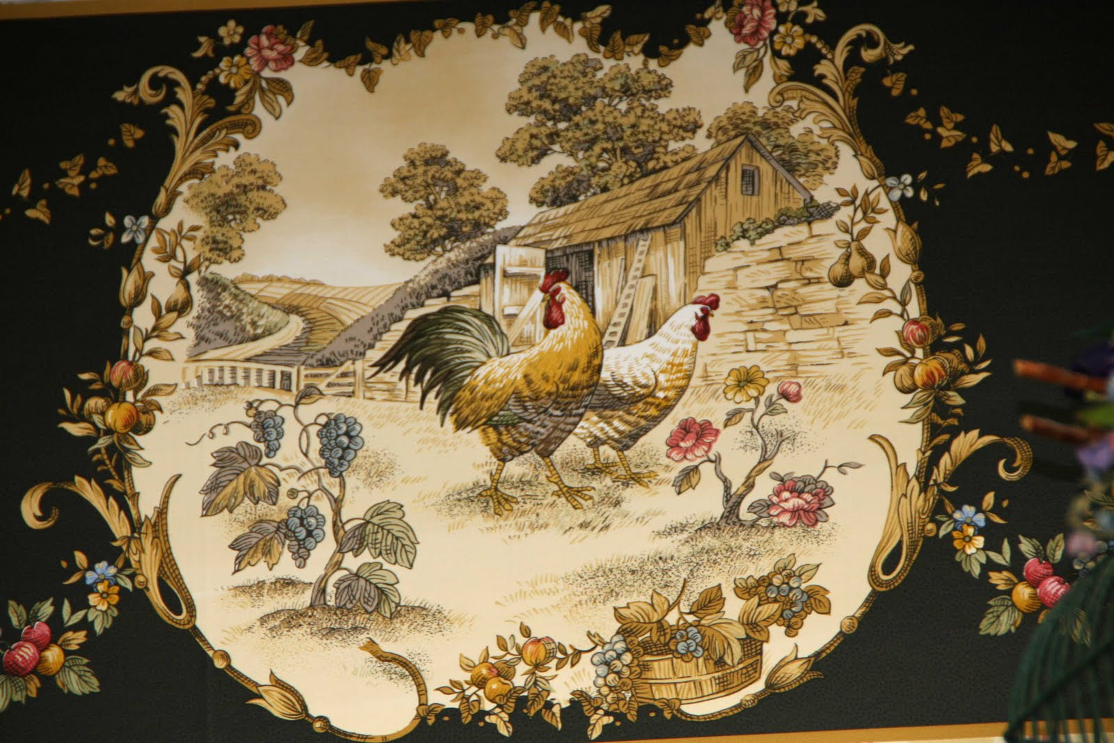 Kitchen border wallpaper photo - 3