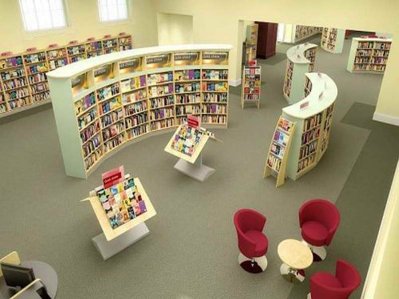 Library Interior Design Ideas photo - 2