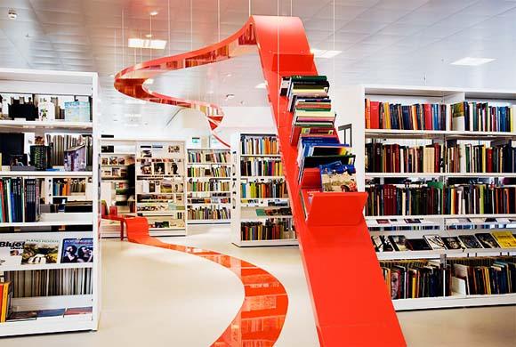 Library Interior Design Ideas photo - 3