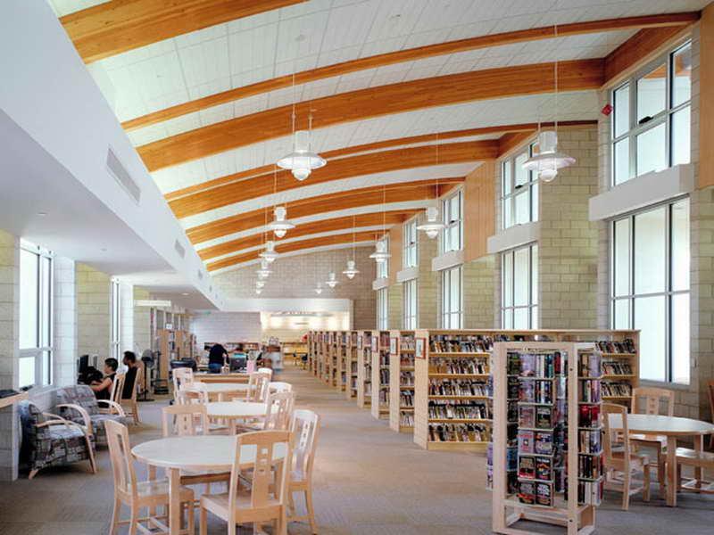 Library Interior Design Ideas photo - 4