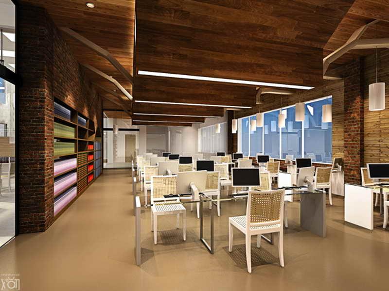Library Interior Design Ideas photo - 5