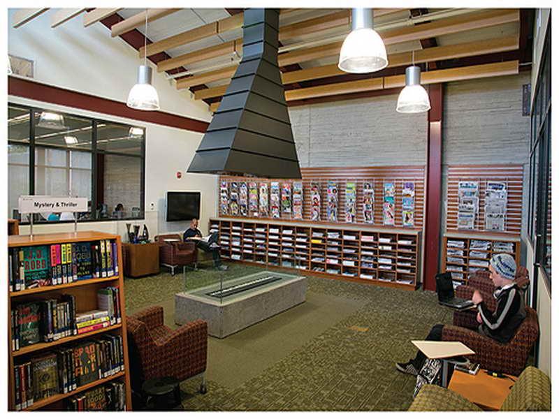 Library Interior Design Ideas photo - 7