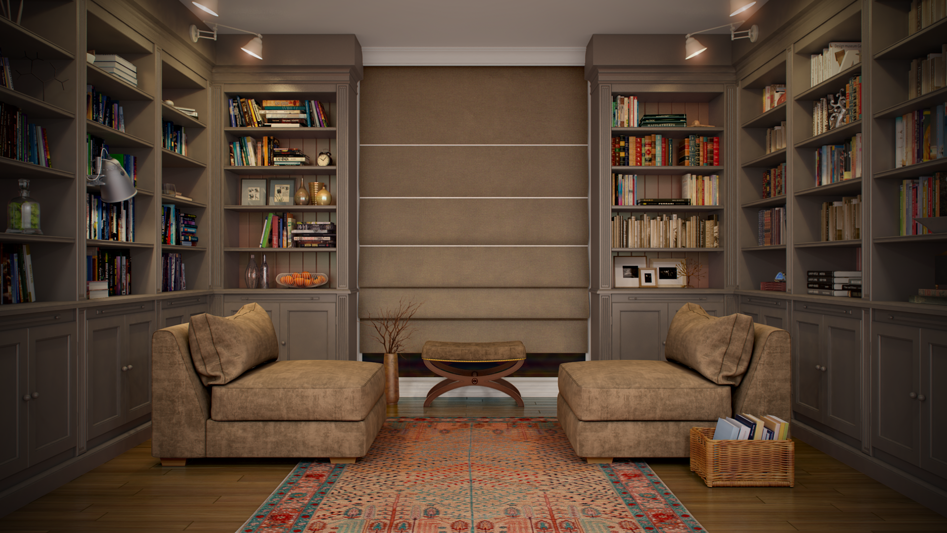 Library Interior Design Ideas photo - 8