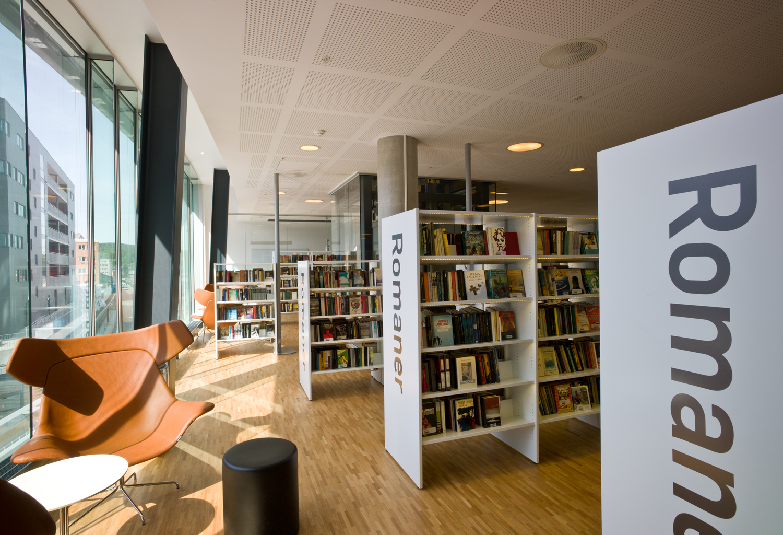 Library Interior Design Planning photo - 2