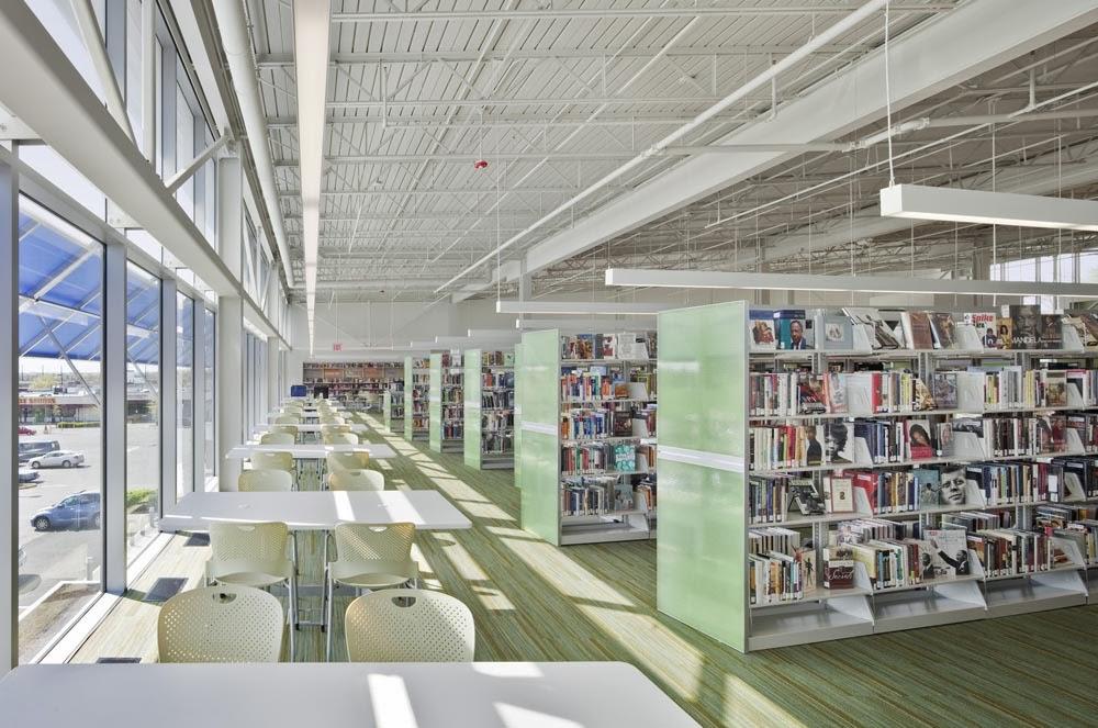Library Interior Design Planning photo - 3