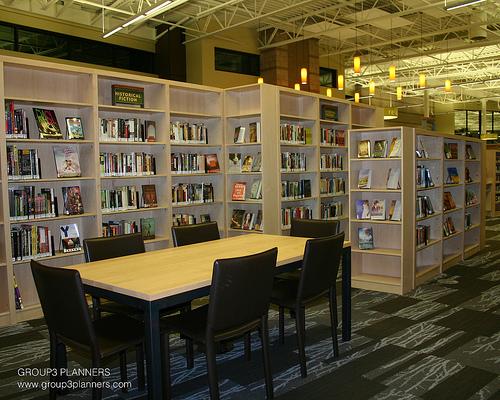 Library Interior Design Planning photo - 7