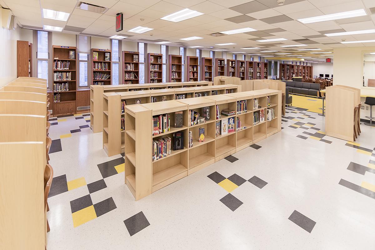 Library Interior Design Planning Hawk Haven