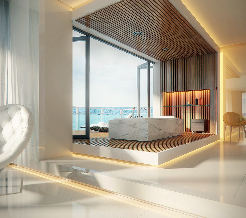 Luxurious Bathroom Design photo - 4