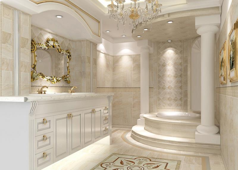 Luxurious Bathroom Design photo - 5