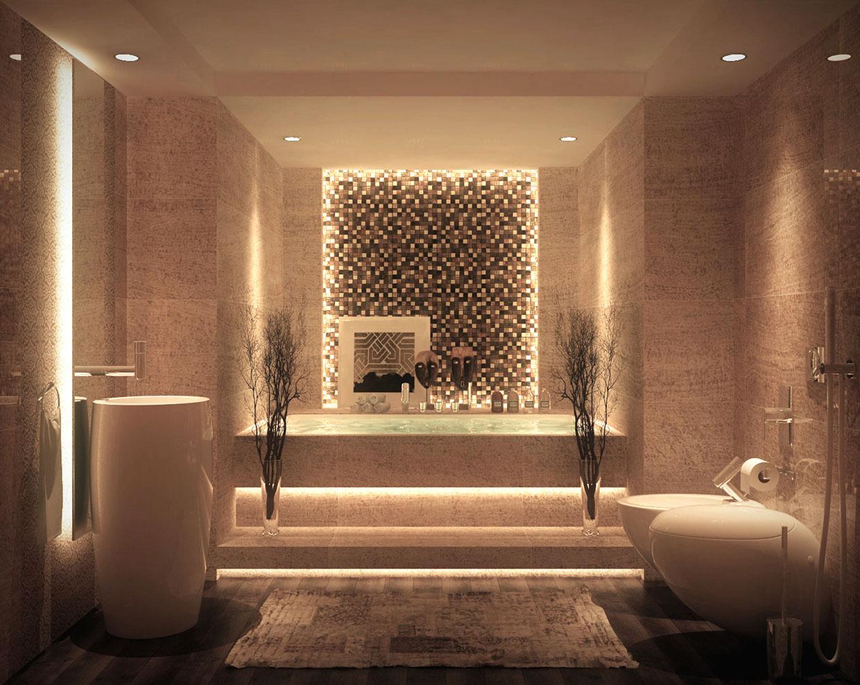 Luxurious Bathroom Design photo - 7