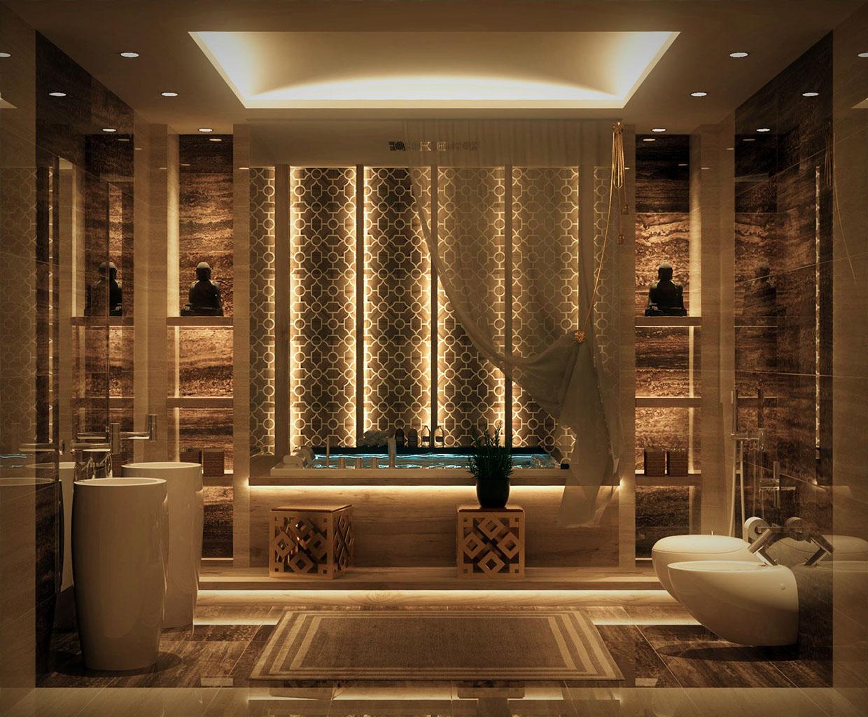 Luxurious Bathroom Design photo - 8