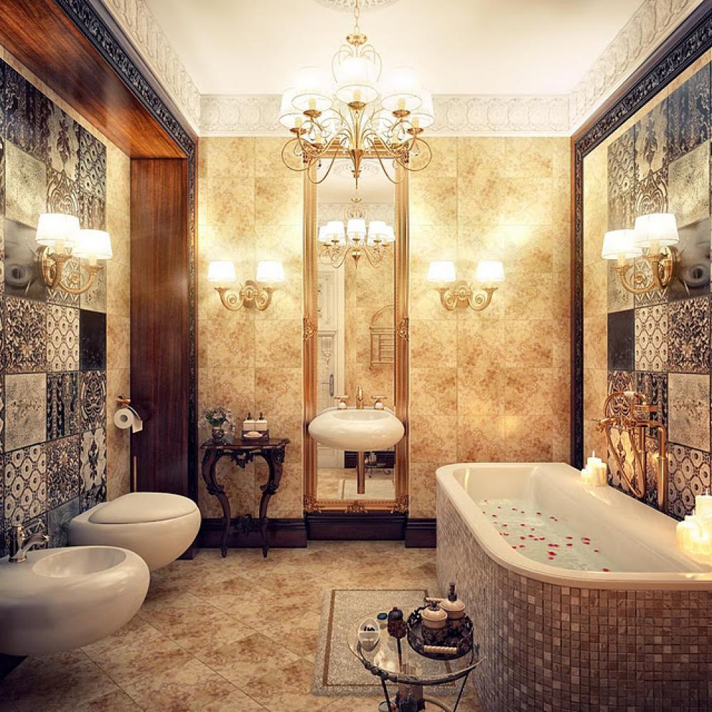 Luxurious Bathroom Design photo - 9