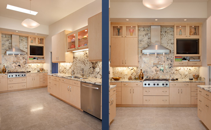 Medium Sized Kitchen Interior Design Concept photo - 1