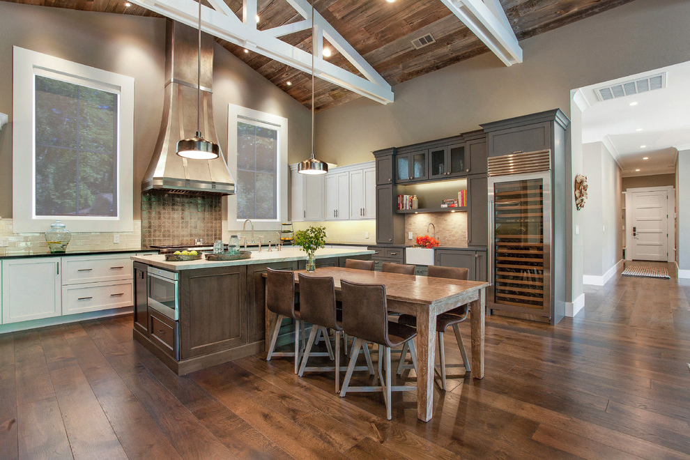 Medium Sized Kitchen Interior Design Concept photo - 2