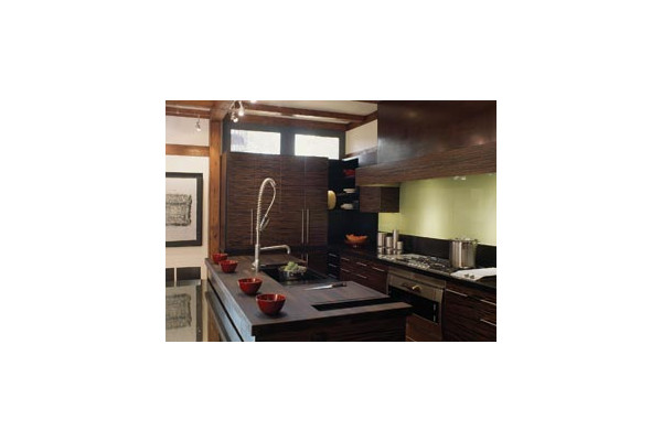 Medium Sized Kitchen Interior Design Concept photo - 4