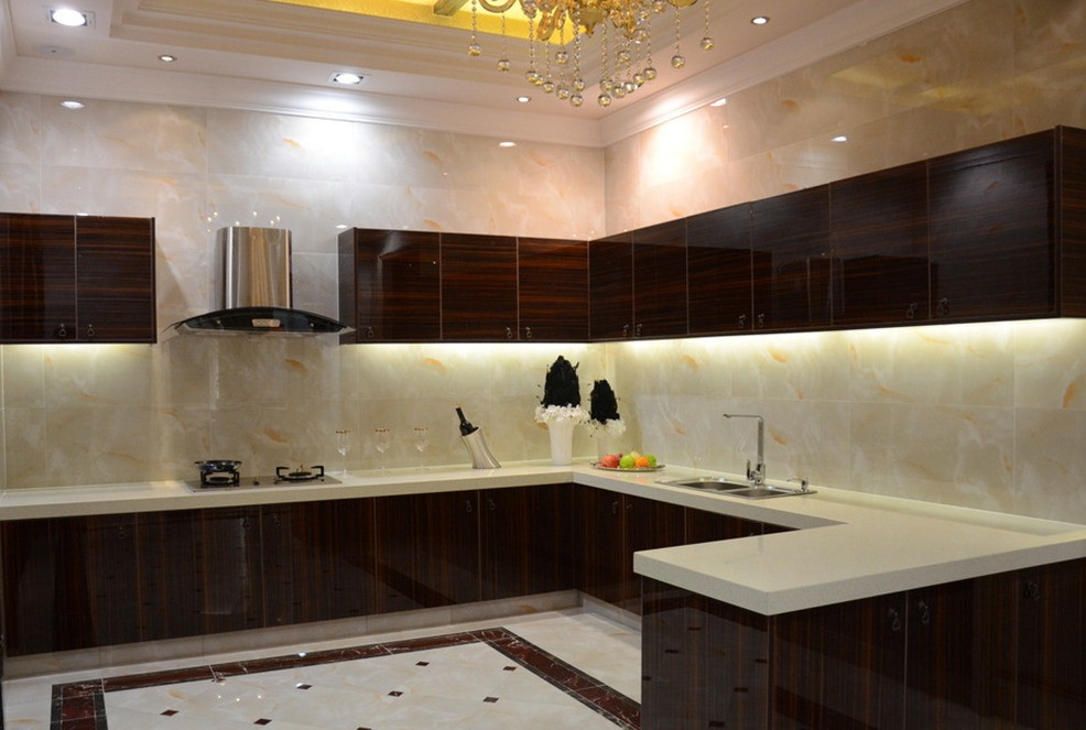 Medium Sized Kitchen Interior Design Concept photo - 5