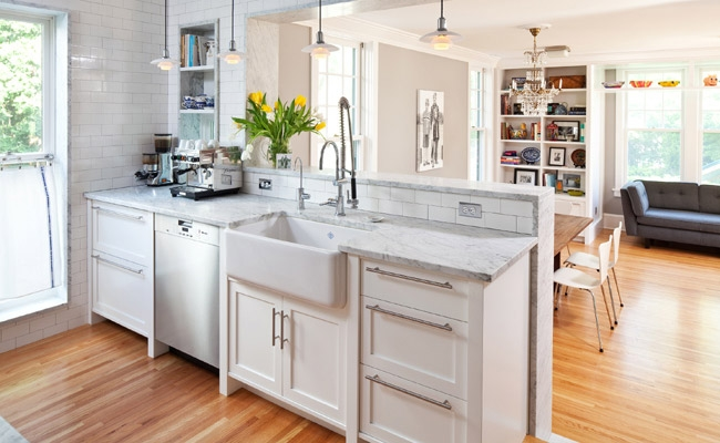 Medium Sized Kitchen Interior Design Concept photo - 9