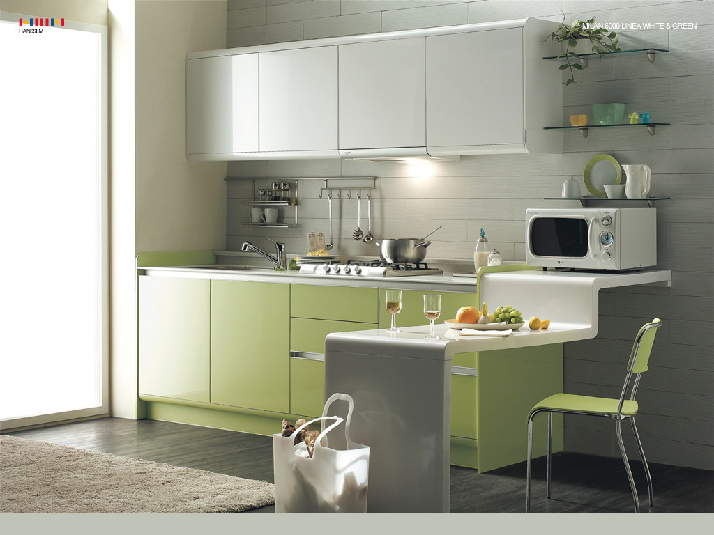 Minimalistic Kitchen Interior photo - 5
