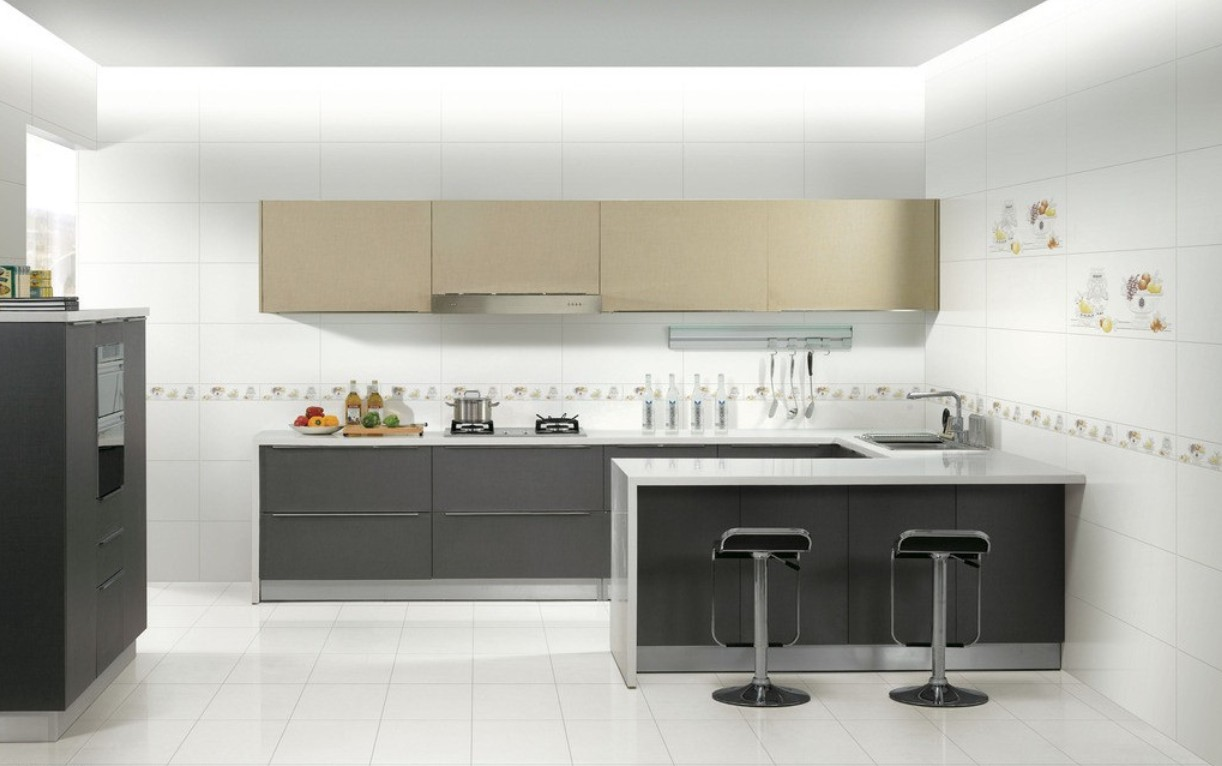 Minimalistic Kitchen Interior photo - 6