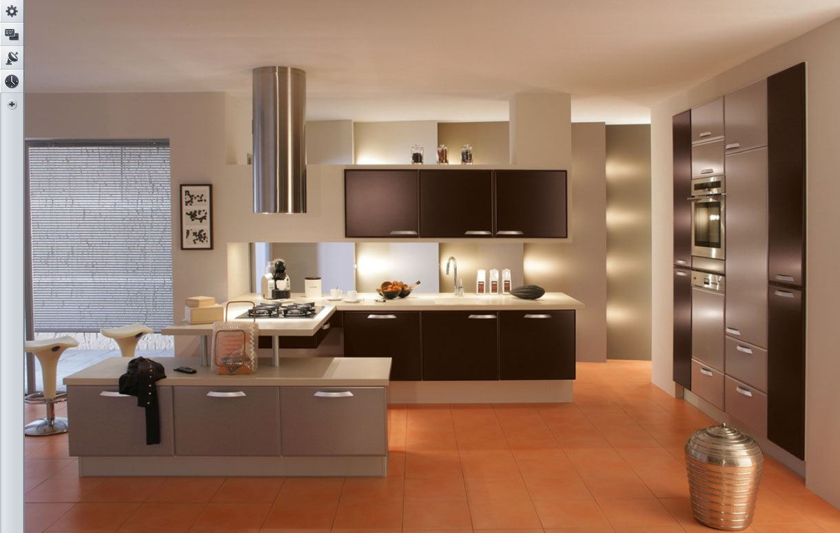 Minimalistic Kitchen Interior photo - 9