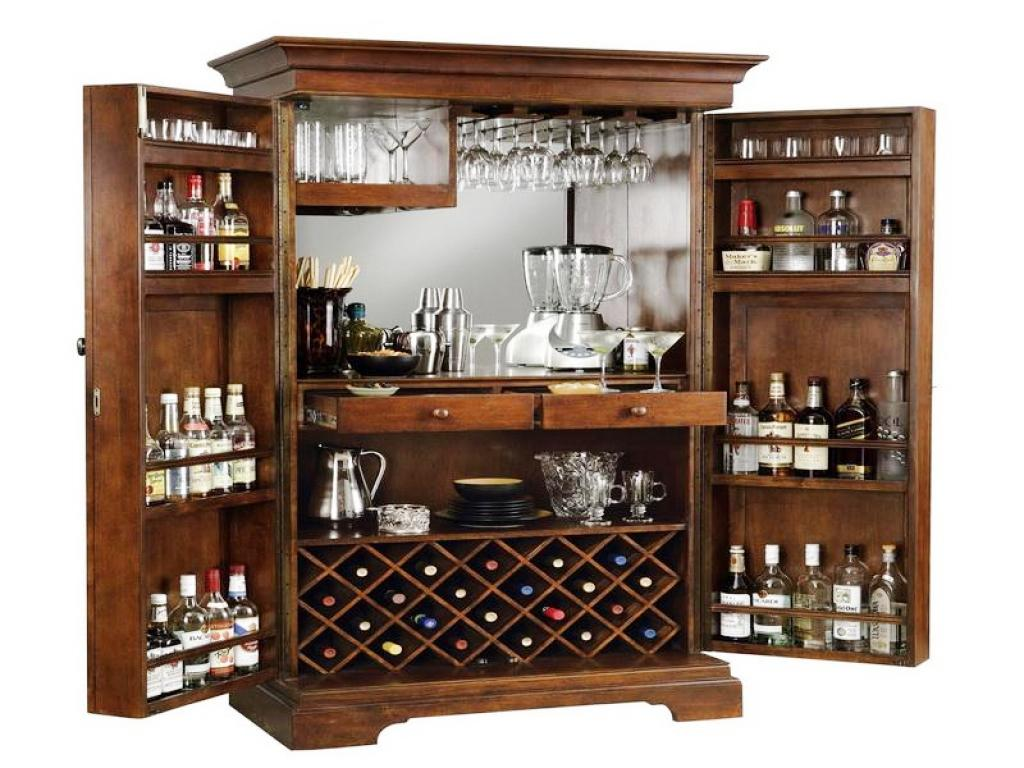 Modern Day Home Bar Cabinet photo - 10